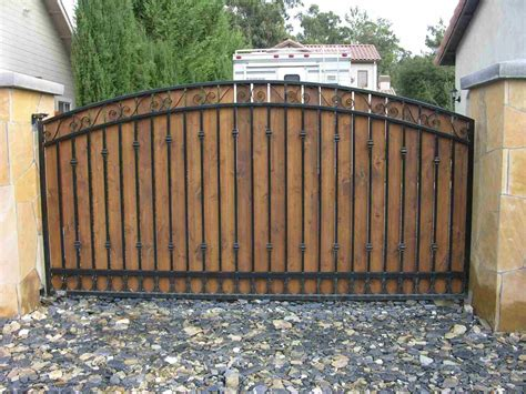 wood gates access control systems driveway gates security gates repair service in san