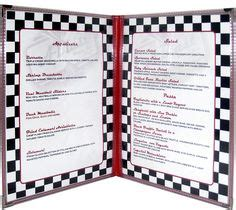 50s diner menu template 1000 images about american diner on diner