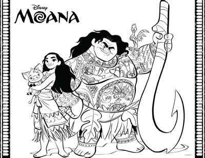 59 moana coloring pages (updated march 2018)