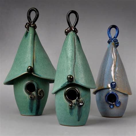 Ceramic Birdhouses Handmade - 17 best images about pottery slab ideas on