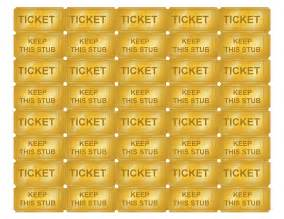 gold ticket template tim de vall comics printables for