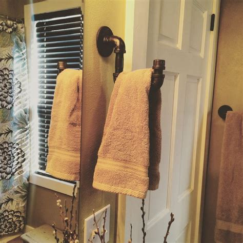 unique bathroom towel holders 1000 ideas about hand towel holders on pinterest