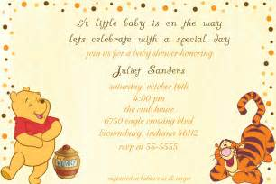 classic winnie the pooh baby shower invitations baby shower for parents