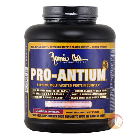 Whey Protein Pro Antium buy ronnie coleman signatureseries pro antium high quality protein blend