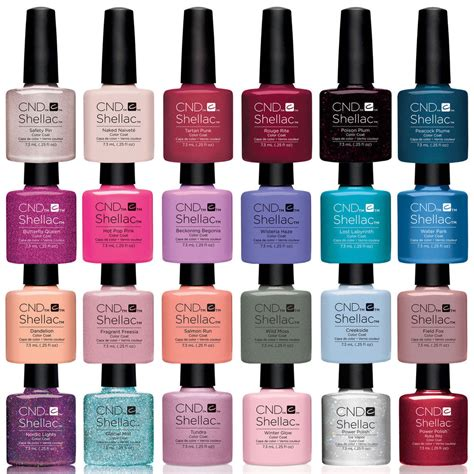 cnd shellac uv l for sale cnd shellac uv gel nail polish 100 authentic all new