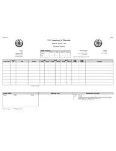 Student Report Card Sample Student Report Card Nyc Department Of Education Free
