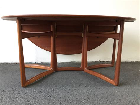 Drop Leaf Dining Tables For Sale Drop Leaf Dining Table By Hvidt And M 248 Lgaard For Sale At 1stdibs