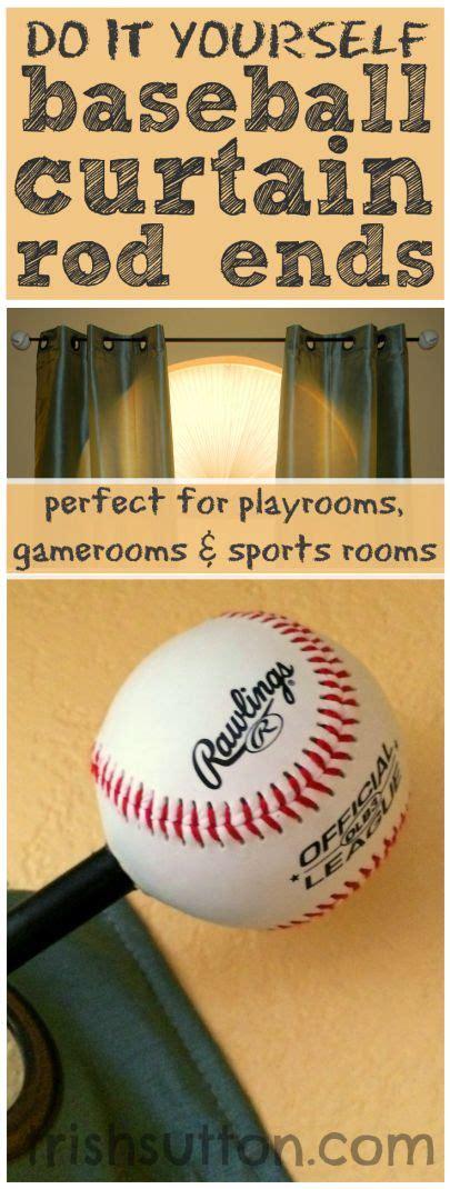 childrens curtain pole ends best 25 boys baseball bedroom ideas on pinterest