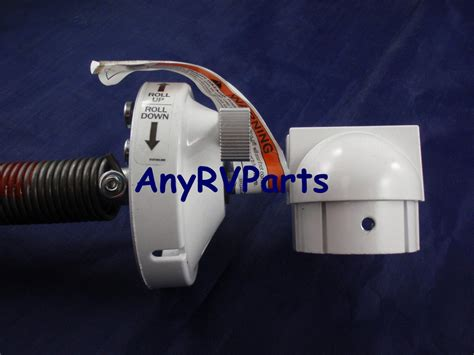 dometic awning 8500 a e dometic 8500 plus rv awning torsion assembly polar white rh 3309932006b ebay