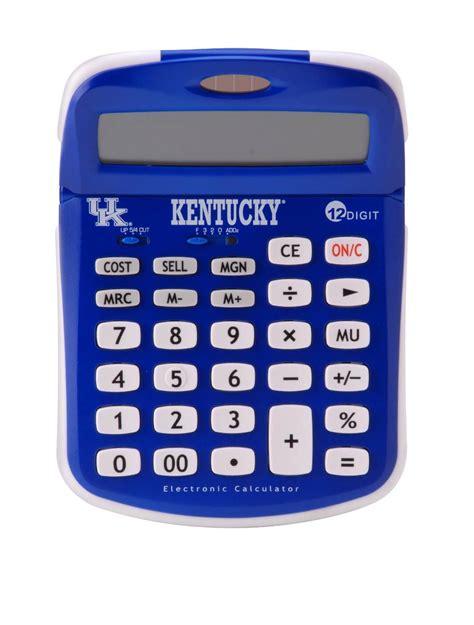 of kentucky colors of kentucky solar powered calculator with uk