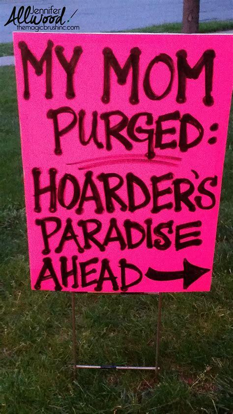follow alpharetta laws for garage sale signs or risk a fine