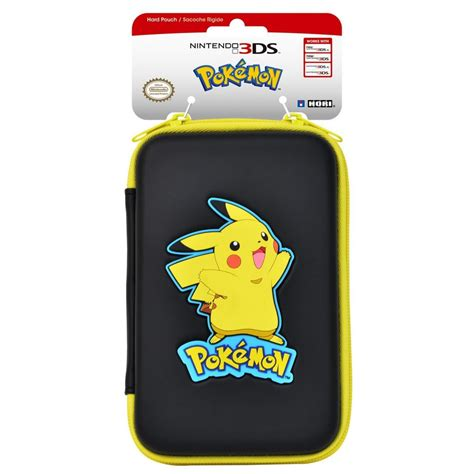 hori pikachu new nintendo 3ds xl pouch now available idealist