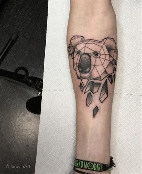 geometric koala tattoo off the map tattoo tattoos page 1