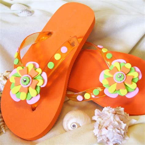 ideas for flip flop craft projects 11 flip flop craft projects favecrafts
