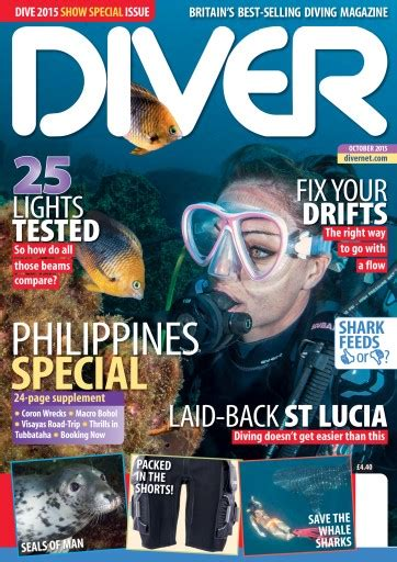 dive magazine diver magazine october 2015 subscriptions pocketmags