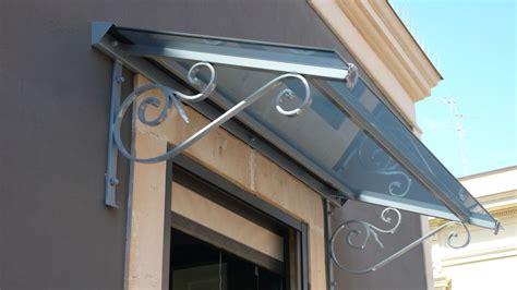 tettoie per portoni esterni portoni pensiline e grate di sicurezza in ferro e inox