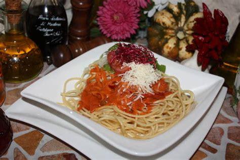 Salat Schön Anrichten by Kochbuch Spaghetti Mit Feurig Scharfen