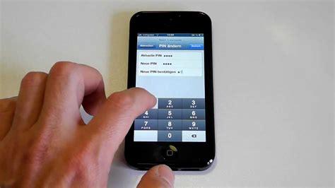 iphone 5 sim pin 228 ndern neue sim pin