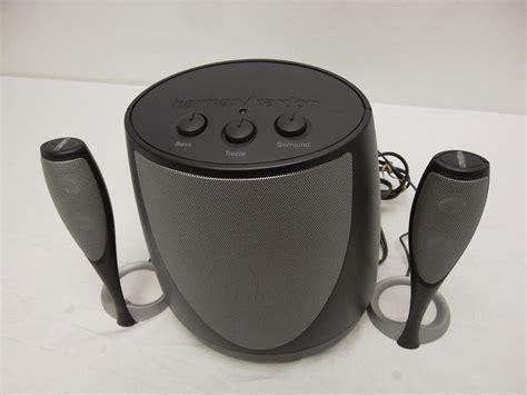 Speaker Komputer Harman Kardon dell harman kardon multimedia 2 1 speaker system w sub woofer 40w hk695 20cku 28292500879 ebay