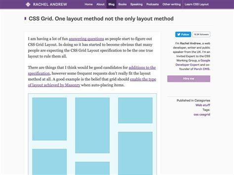 design studio grid layout css popular design news of the week january 16 2017