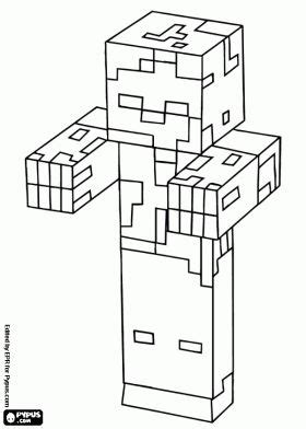 minecraft chicken coloring page 10 best images about minecraft coloring pictures on