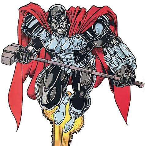 steel man of steel dc comics john henry irons