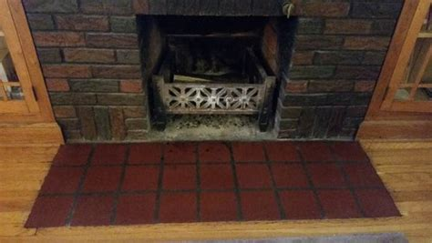 fireplace hearth tile