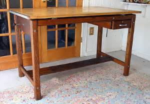 Mayline Oak Drafting Table Antique Mayline Drafting Table Solid Maple Oak Artist Work Space Ex 389 00 Picclick