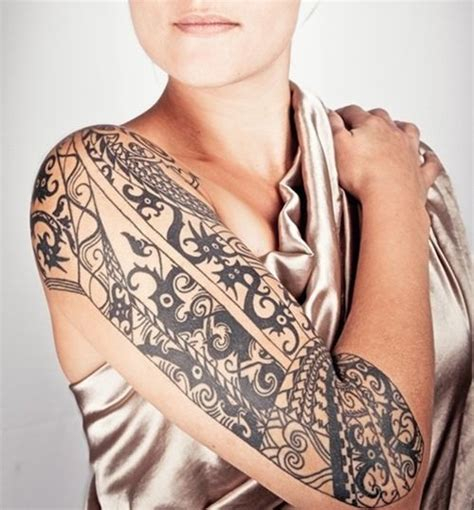 female tribal sleeve tattoos 42 best tattoos and images on design