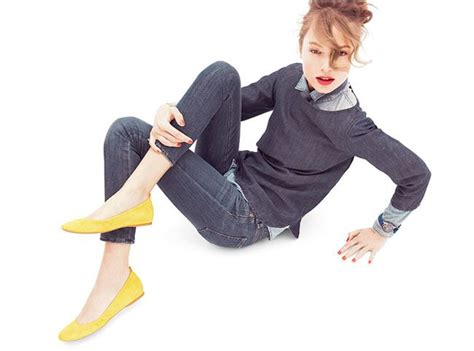 Gray Hepburn Flat Shoes best 25 yellow flats ideas on yellow sandals
