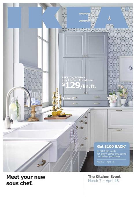 ikea kitchen event ikea kitchen event flyer march 7 to april 18 canada