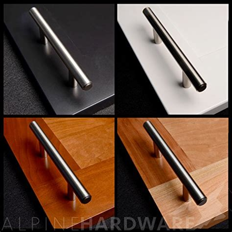 solid bar pull kitchen cabinet door handles brushed nickel 5pc solid stainless steel bar handle pull fine brushed