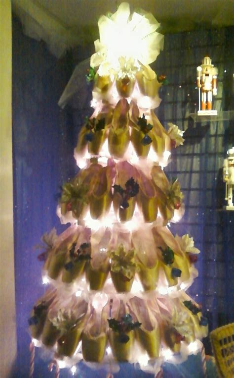 pointe shoe christmas tree holidaze pinterest