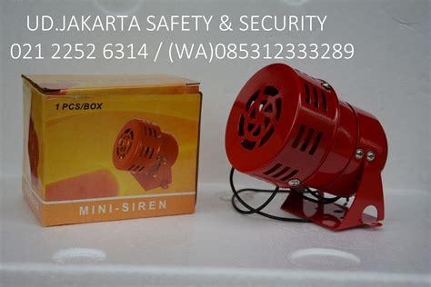 Jual Alarm Motor Jakarta toko pusat perlengkapan jual alarm motor sirine horn buzzer tanda kebakaran api 220 vac