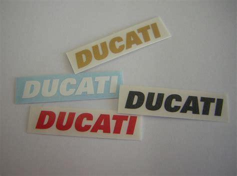 Helm Aufkleber Ducati by Aufkleber Ducati Schriftzug Ab 2 00 Der Ducati Store