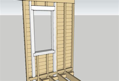 framing a window window installation planning two flat remade