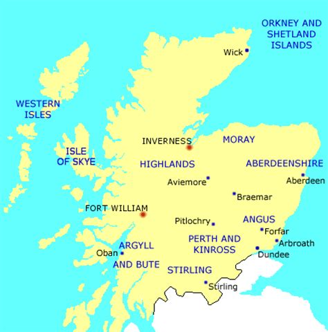 bed and breakfast hotels in north scotland.
