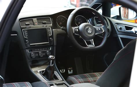 volkswagen gti interior 2014 volkswagen golf gti mk7 on sale in australia from