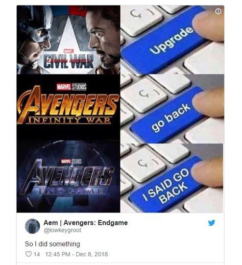 hilarious avengers endgame trailer memes reactions