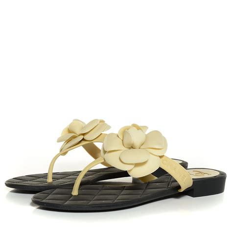 Bag Chanel Jelly chanel jelly quilted camellia sandals 36 black beige