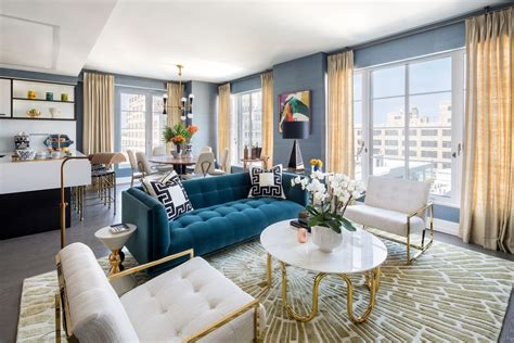 adler design jonathan adler designs a splashy model apartment for