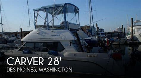 boat motors des moines 28 foot carver 28 28 foot carver motor boat in des