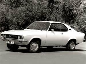 1970 Opel Manta In Time 1970 Cars Opel Manta A