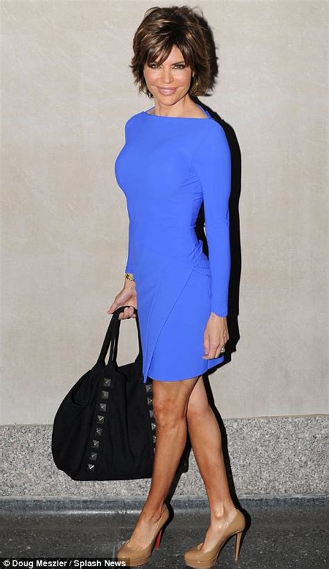 lisa rinna dress lisa rinna shows off her incredible figure in a series of