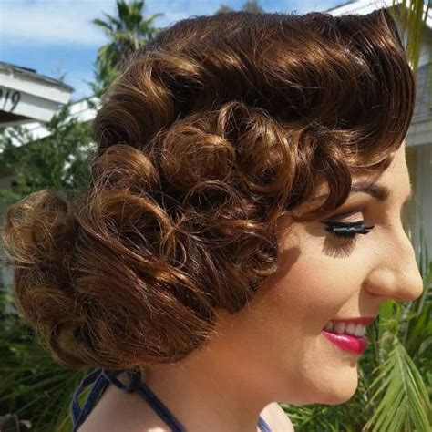 curly hair vintage hairstyles 30 iconic retro and vintage hairstyles