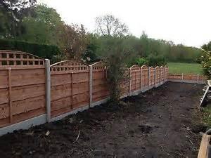 Garden Fence Trellis Top Bow Top Trellistop Heavyduty Waneylap Fence Panels Ebay