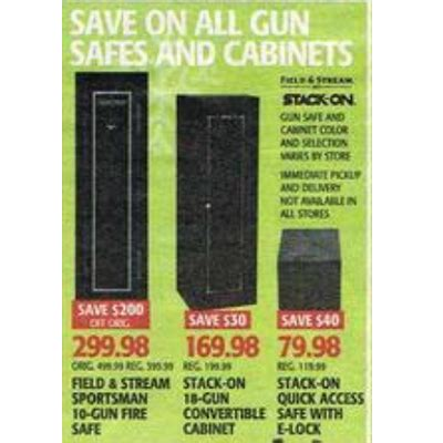 black friday deals on gun cabinets stack on 18 gun convertible cabinet 169 98 s