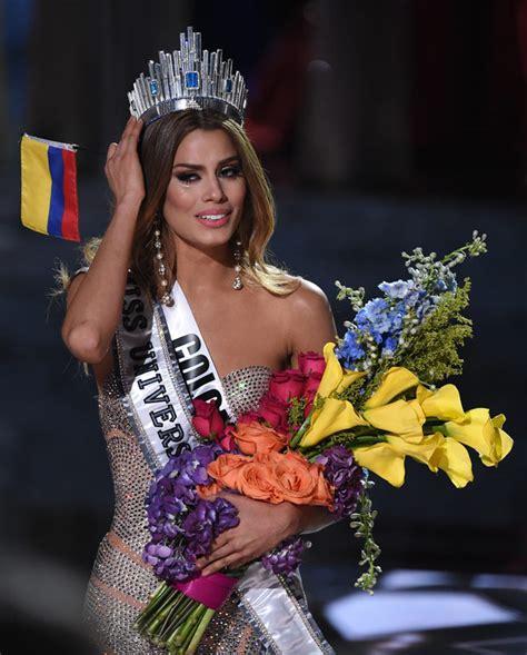 miss universo colombia imagenes el momento inc 243 modo en el que le quitan la corona a miss