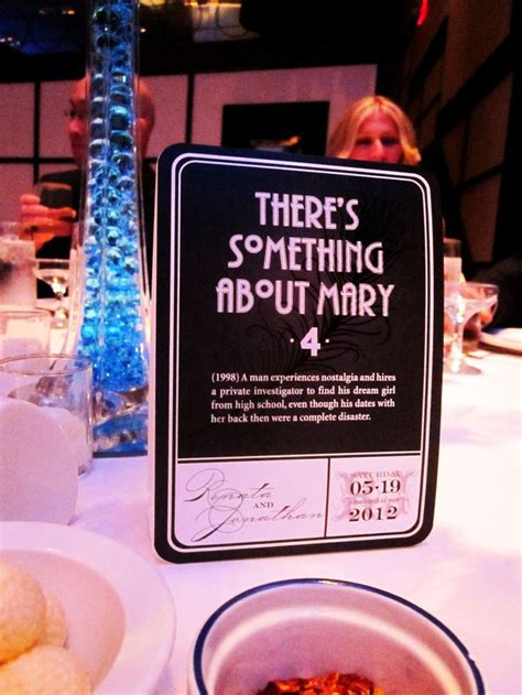 Movie Themes Names | 46 best images about movie themed wedding centerpieces on