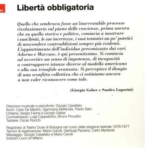 5 liberta obbligatoria